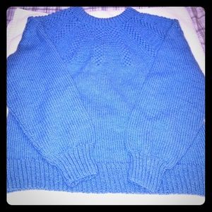 Homemade knitted sweater